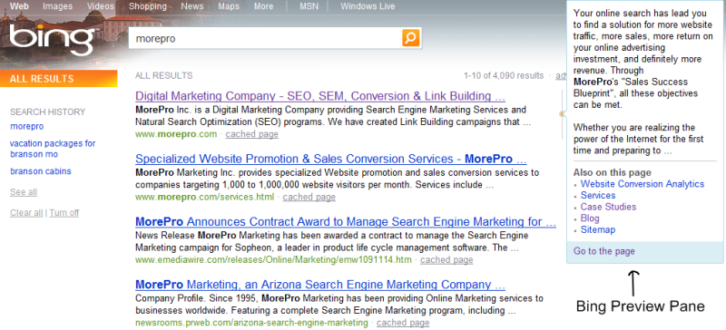 How Bing Search Engine Will Reduce Online Conversions - Design Marketing Firm Phoenix AZ
