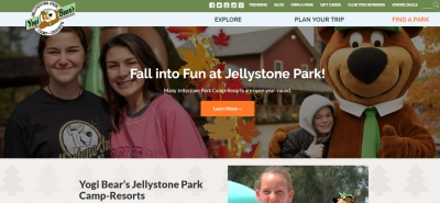 Yogi Bear's Jellystone Park Camp-Resorts - Design Marketing Firm Phoenix AZ