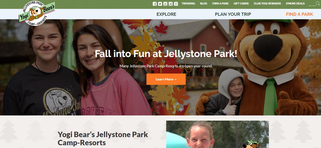 Yogi Bear's Jellystone Park Camp-Resorts - Design Marketing Firm Phoenix AZ