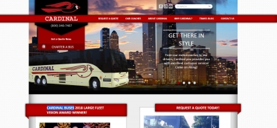 Cardinal Buses - Design Marketing Firm Phoenix AZ