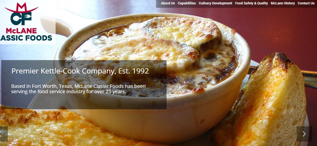 McLane Classic Foods - Design Marketing Firm Phoenix AZ