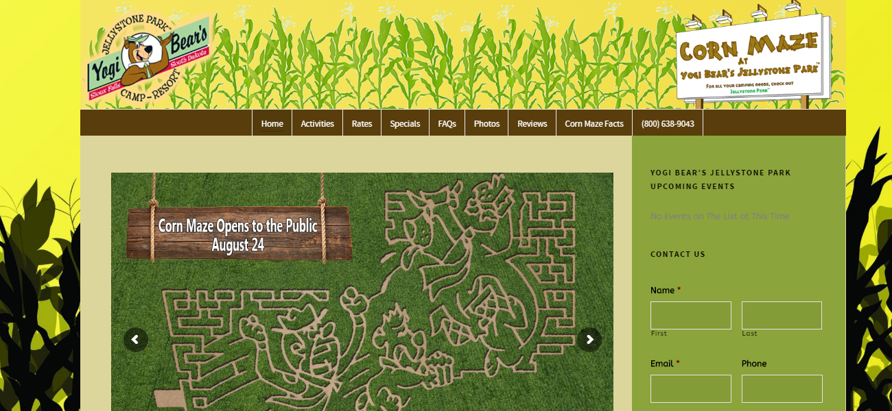 Sioux Falls Corn Maze - Design Marketing Firm Phoenix AZ
