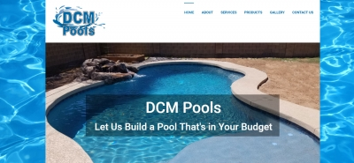 DCM Pools - Design Marketing Firm Phoenix AZ
