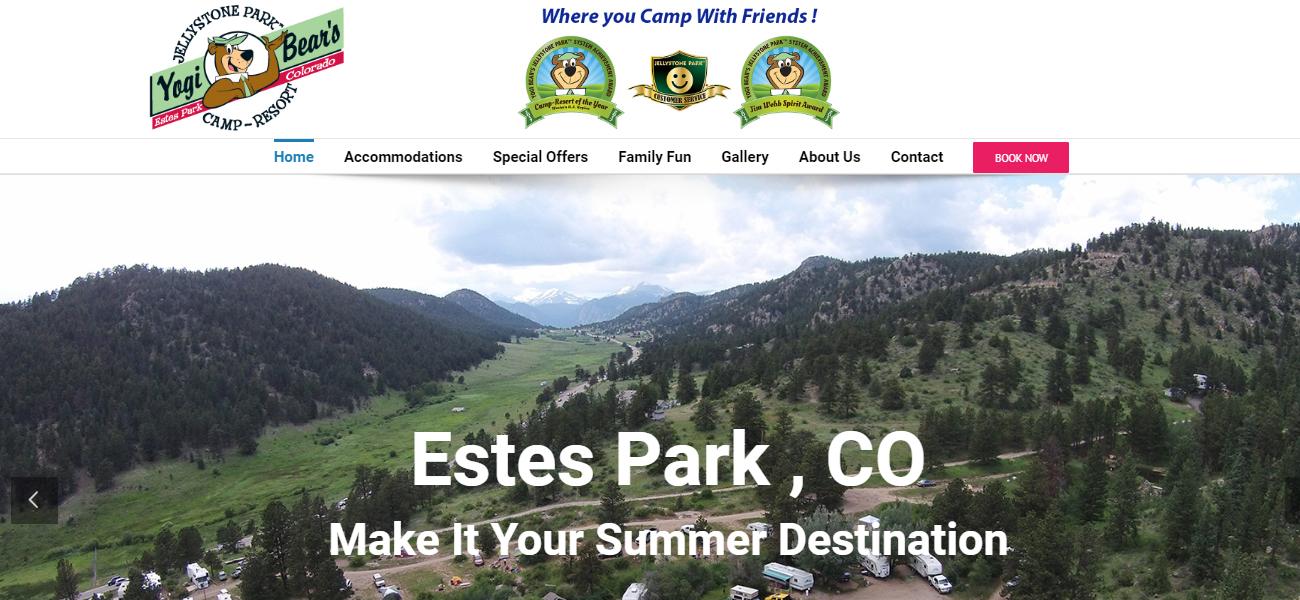 Jellystone Park™ Of Estes, Colorado - Design Marketing Firm Phoenix AZ