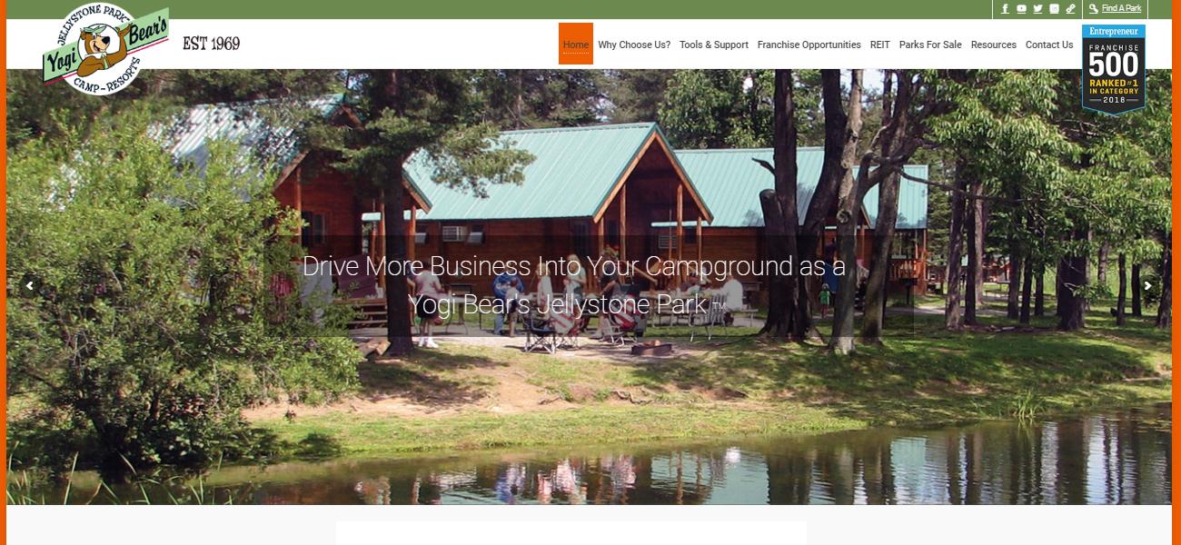 Jellystone Park™ Camp-Resorts Franchise - Design Marketing Firm Phoenix AZ