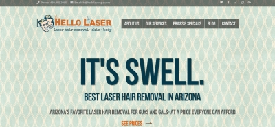 Hello Laser Spa - Design Marketing Firm Phoenix AZ