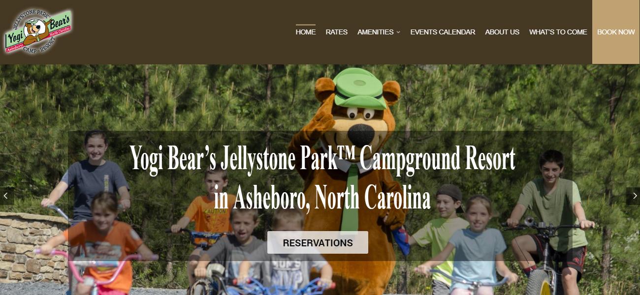Jellystone Park™ in Asheboro - Design Marketing Firm Phoenix AZ