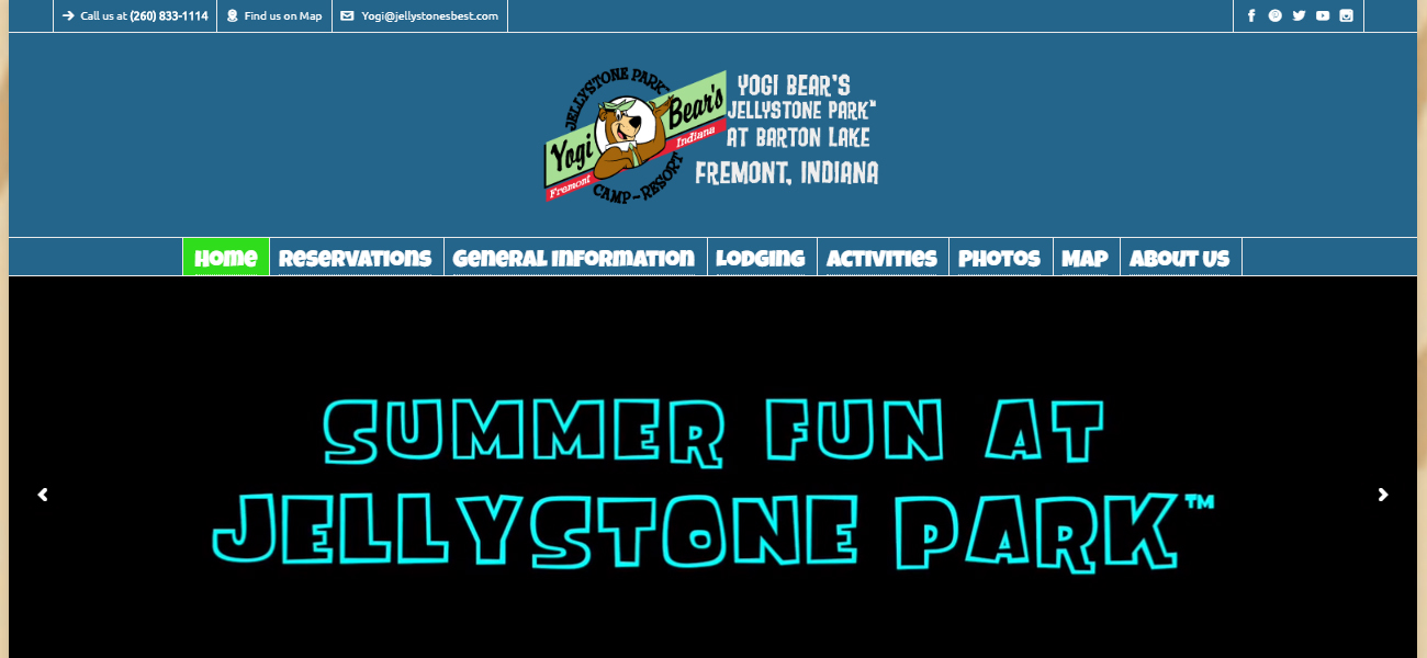 Jellystone Park™ at Barton Lake - Design Marketing Firm Phoenix AZ