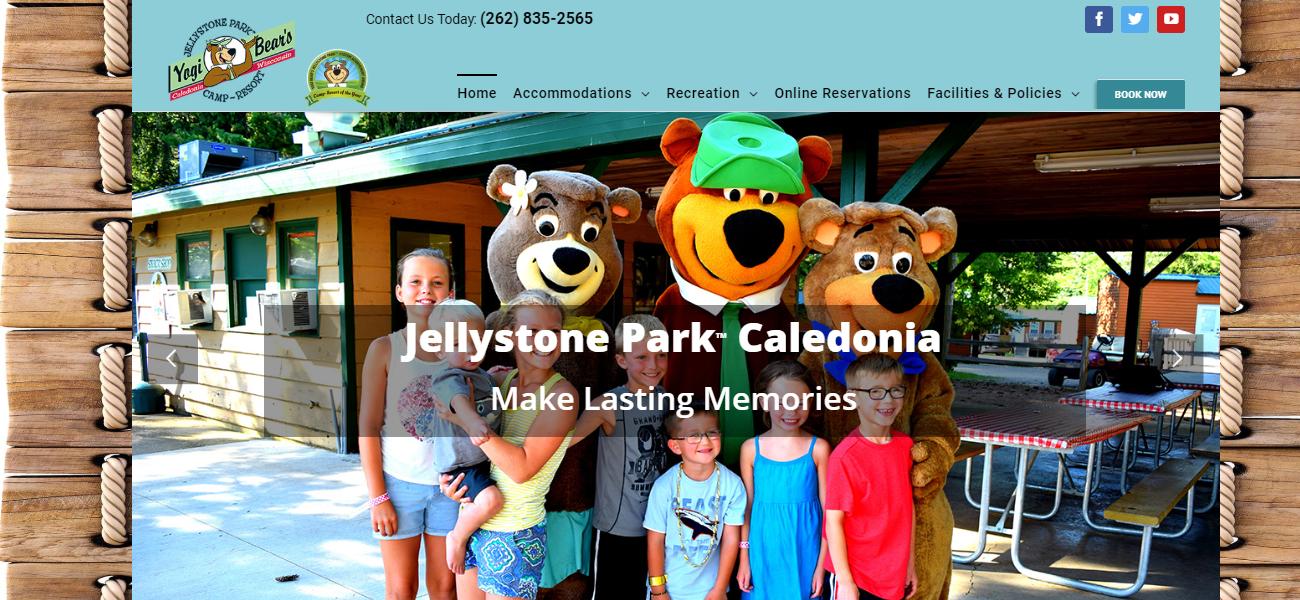 Jellystone Park™ Caledonia - Design Marketing Firm Phoenix AZ