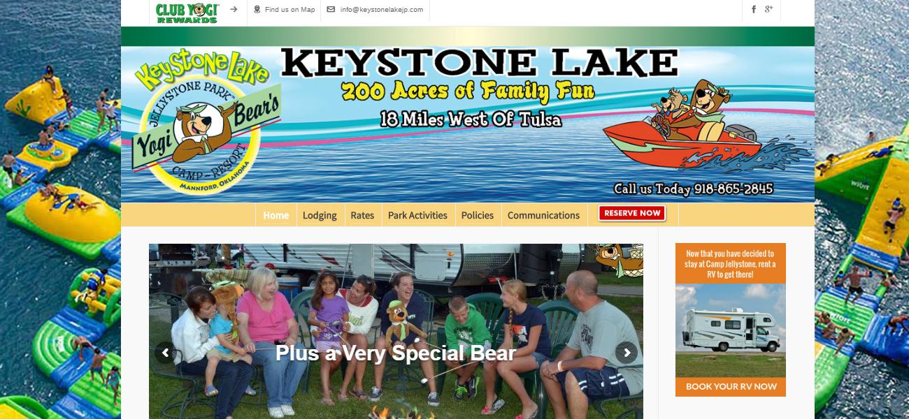 Jellystone Park™ at Keystone Lake - Design Marketing Firm Phoenix AZ