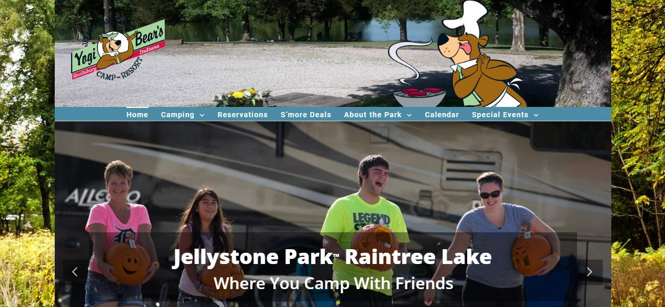 Jellystone Park™ Raintree lake - Design Marketing Firm Phoenix AZ