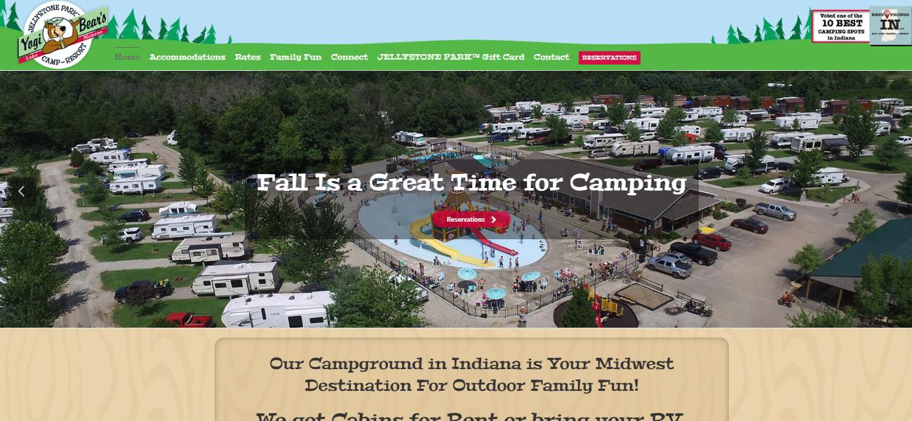 Jellystone Park™ at Lake Monroe - Design Marketing Firm Phoenix AZ