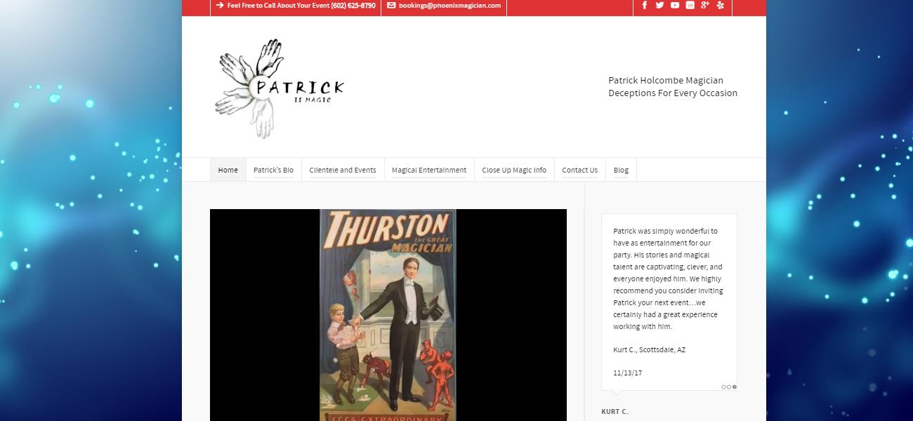 Patrick is Magic - Design Marketing Firm Phoenix AZ