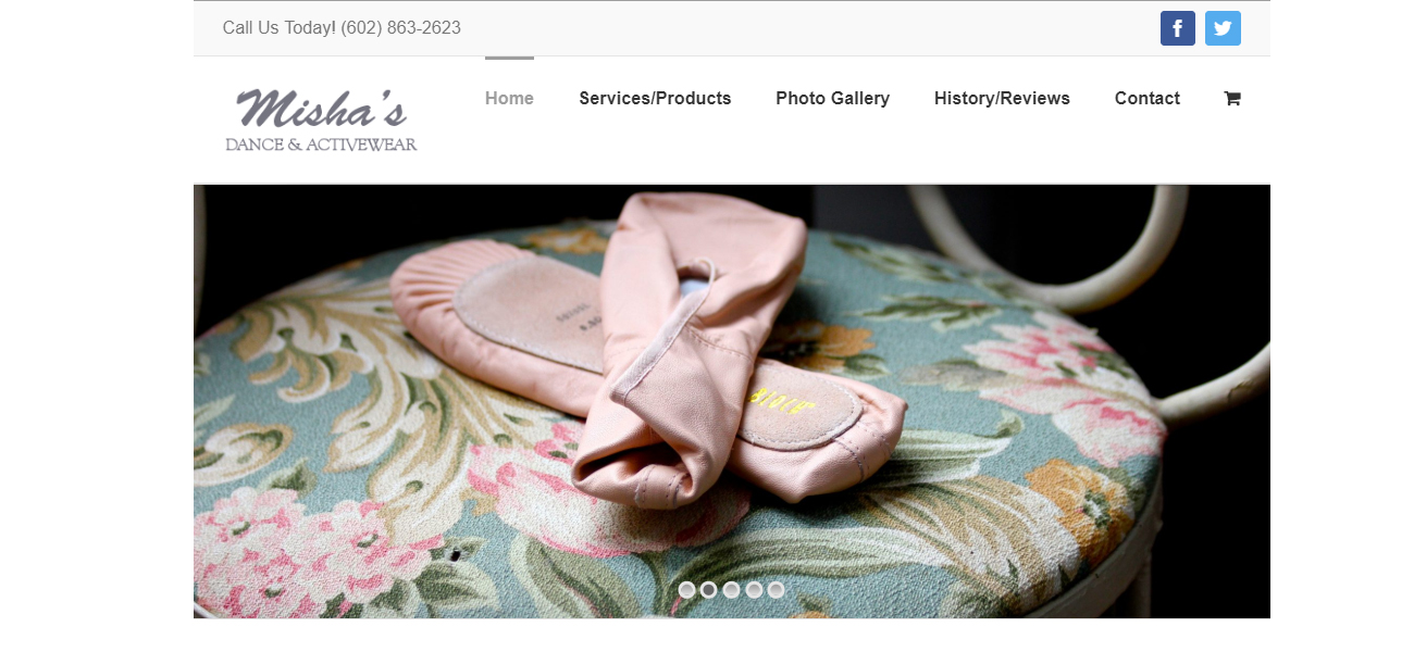 Misha's Dance & Activewear - Design Marketing Firm Phoenix AZ