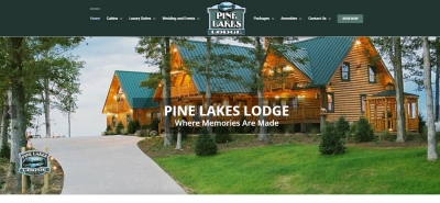 Pine Lakes Lodge - Design Marketing Firm Phoenix AZ