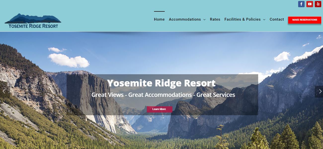Yosemite Ridge Resort - Design Marketing Firm Phoenix AZ