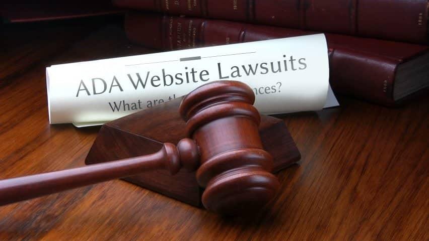 ADA lawsuits against websites